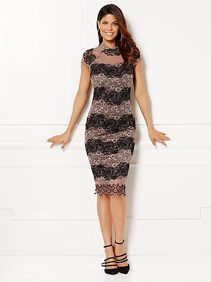 Eva Mendes Collection - Jordana Lace Sheath Dress - New York & Company