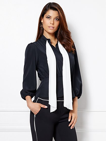 Eva Mendes Collection - Julietta Scarf Blouse  - New York & Company