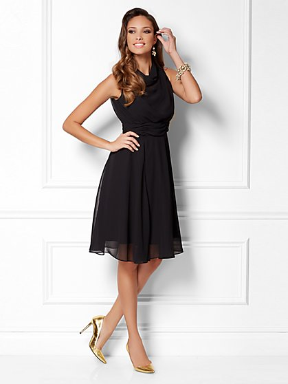 Eva Mendes Collection - Karrie Chiffon Dress - New York & Company