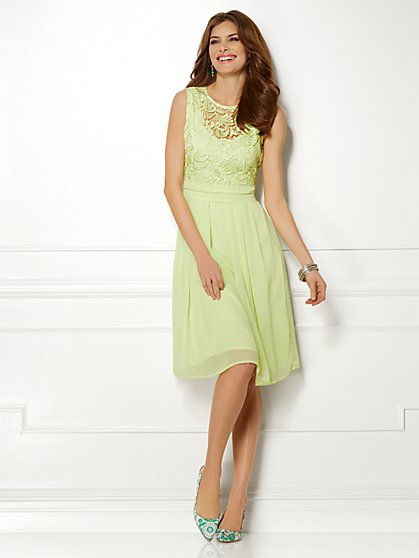 Eva Mendes Collection - Karrie Lace Dress  - New York & Company