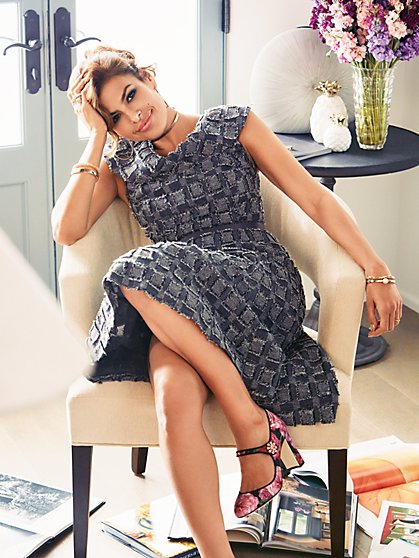 Eva Mendes Collection - Kata Flare Dress - New York & Company