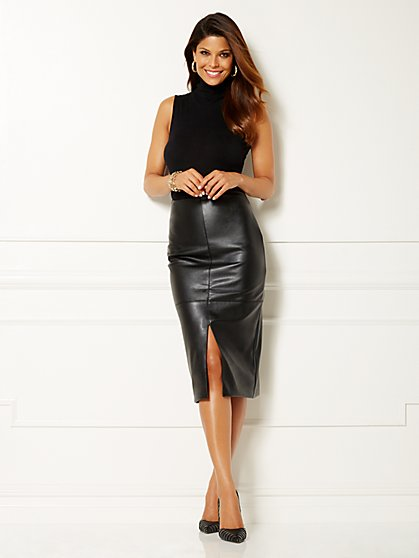 Eva Mendes Collection - Kelly Turtleneck Bodysuit - Sleeveless - New York & Company