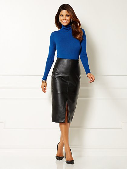 Eva Mendes Collection - Kelly Turtleneck Bodysuit - New York & Company