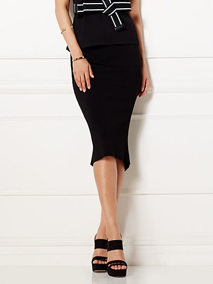 Eva Mendes Collection - Knit Pencil Skirt  - New York & Company