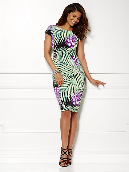 Eva Mendes Collection - Kristina Dress - Print  - New York & Company