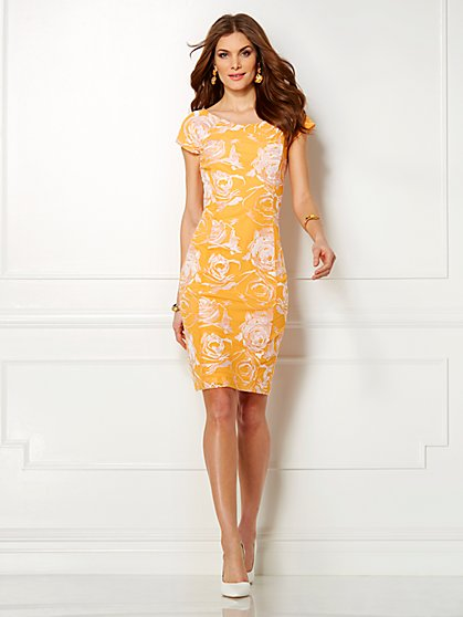 Eva Mendes Collection - Kristina Embroidered Dress  - New York & Company