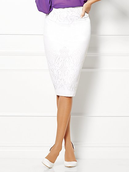 Eva Mendes Collection - Kristina Lace Skirt  - New York & Company