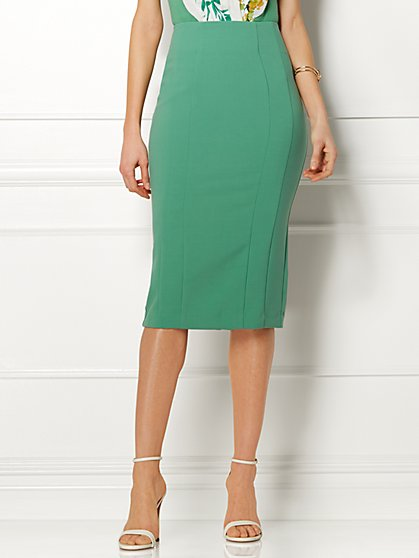 Eva Mendes Collection - Kristina Skirt - Mesh Panel - New York & Company