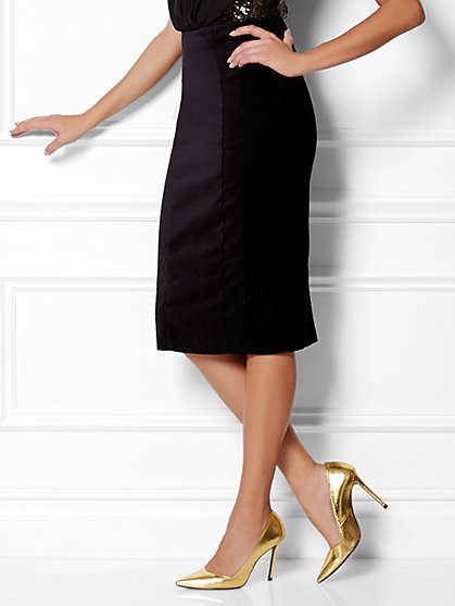 Eva Mendes Collection - Kristina Velvet Skirt - New York & Company