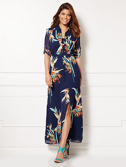 Eva Mendes Collection - La Bohème Dress - Floral - New York & Company