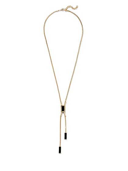 Eva Mendes Collection - Lariat Necklace  - New York & Company