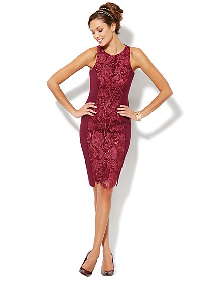 Eva Mendes Collection - Lesley Sheath Dress - New York & Company