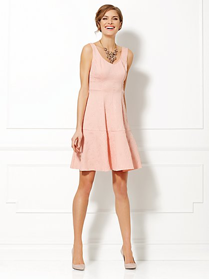 Eva Mendes Collection - Lexi Embossed Dress  - New York & Company