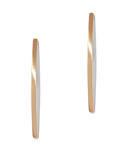 Eva Mendes Collection - Linear Drop Earring  - New York & Company