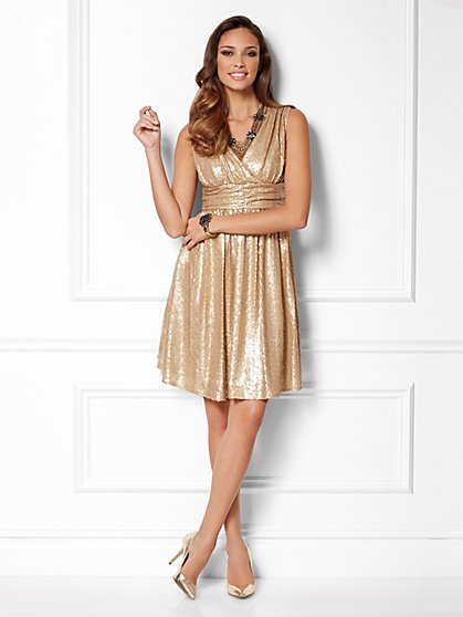 Eva Mendes Collection - Lisa Sequin Dress - New York & Company