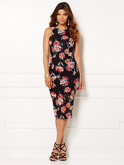 Eva Mendes Collection - Livi Lace Sheath Dress - New York & Company
