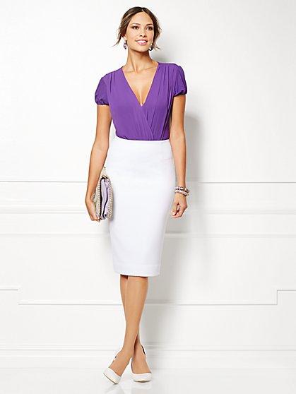 Eva Mendes Collection - Liya Bodysuit - New York & Company