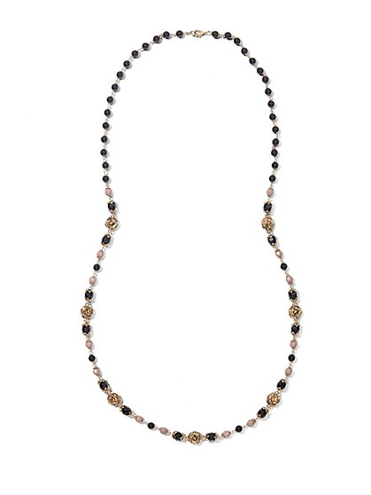 Eva Mendes Collection - Long Beaded Necklace  - New York & Company