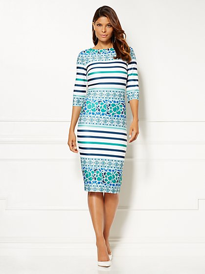 Eva Mendes Collection - Lydia Sheath Dress - New York & Company