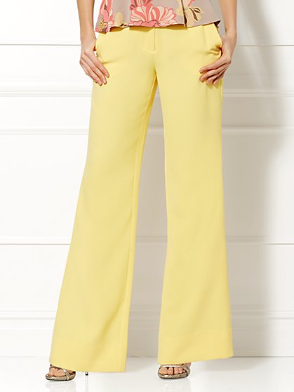 Eva Mendes Collection - Lyla Wide-Leg Pant  - New York & Company