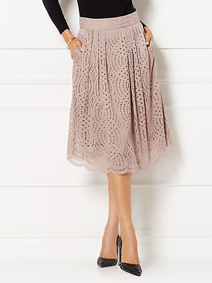 Eva Mendes Collection - Maddie Eyelet Skirt  - New York & Company