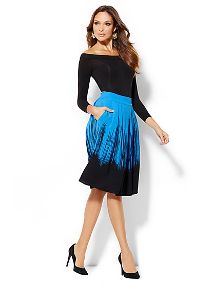 Eva Mendes Collection - Maddie Full Skirt - New York & Company