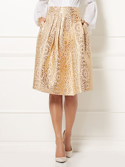 Eva Mendes Collection - Maddie Jacquard Skirt - New York & Company
