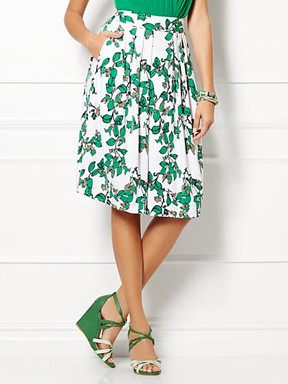 Eva Mendes Collection - Maddie Skirt - Ivy Print - New York & Company