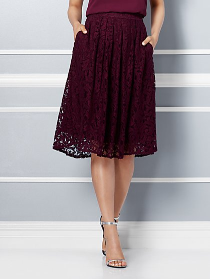 Eva Mendes Collection - Maddie Skirt - Lace  - New York & Company