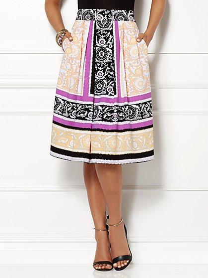 Eva Mendes Collection - Maddie Skirt - Print  - New York & Company