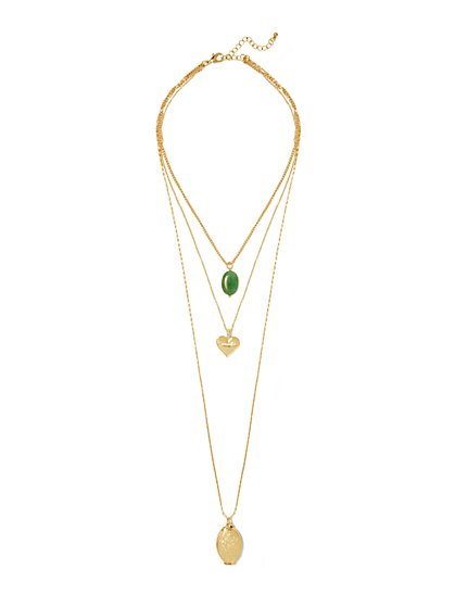 Eva Mendes Collection - Madre Layered Necklace  - New York & Company