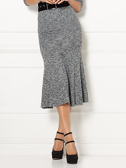 Eva Mendes Collection - Mae Flare Sweater Skirt  - New York & Company