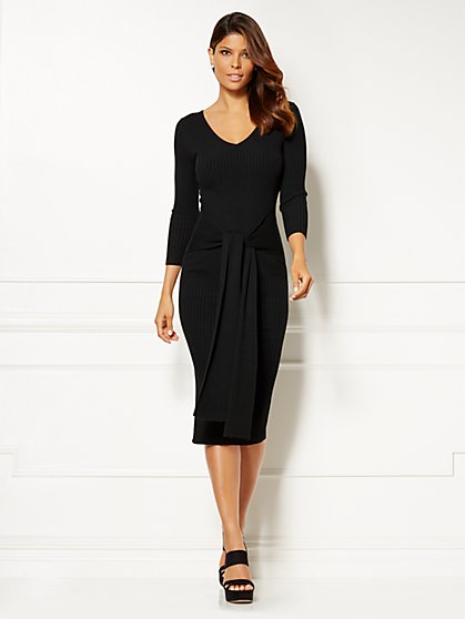 Eva Mendes Collection - Margot Sweater Dress - New York & Company
