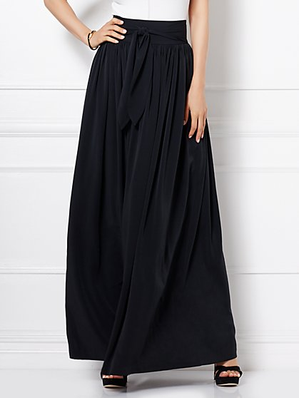 Eva Mendes Collection - Mari Maxi Skirt - Black - New York & Company