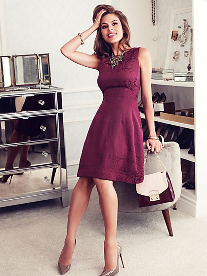 Eva Mendes Collection - Maria Dress - Jacquard  - New York & Company