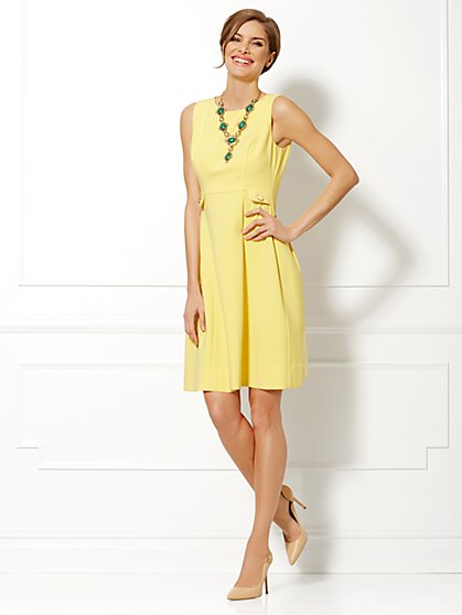 Eva Mendes Collection - Maria Flare Dress  - New York & Company