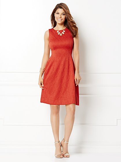 Eva Mendes Collection - Maria Jacquard Dress - New York & Company