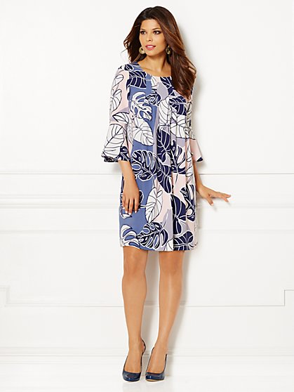 Eva Mendes Collection - Marianne Dress - Print  - New York & Company