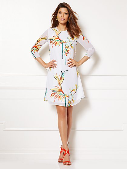 Eva Mendes Collection - Maribel Dress - Floral - New York & Company