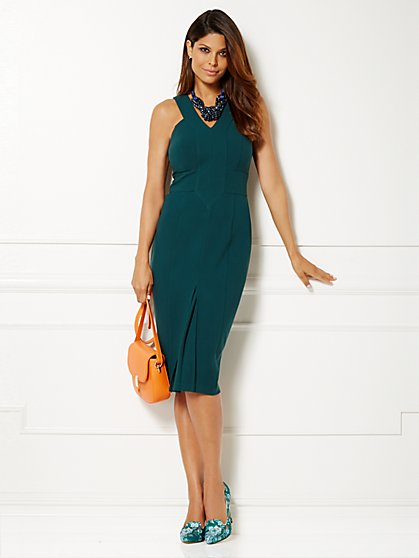 Eva Mendes Collection - Marisol Halter Dress  - New York & Company