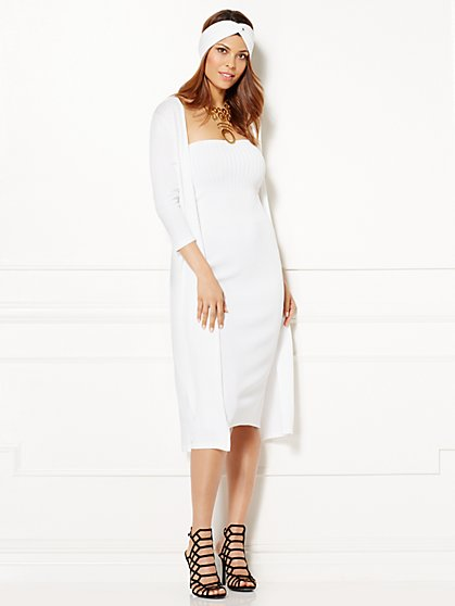 Eva Mendes Collection - Marissa Sweater Duster - New York & Company