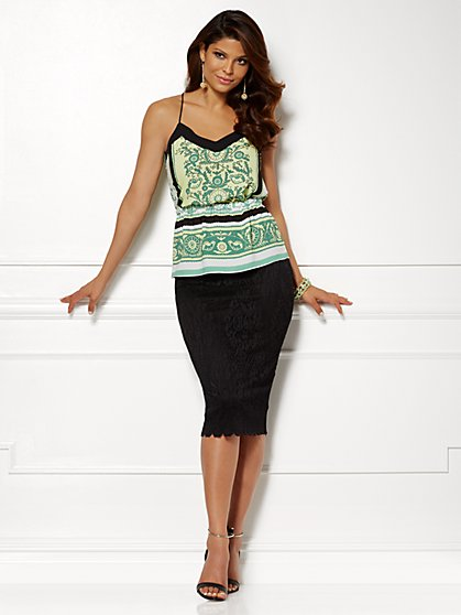 Eva Mendes Collection - Maya Halter Top - New York & Company