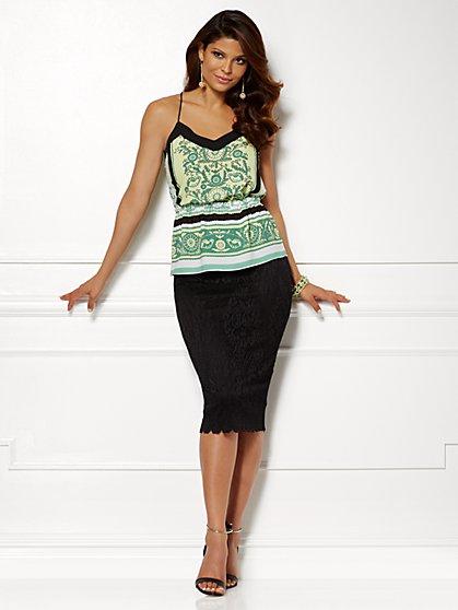 Eva Mendes Collection - Maya Halter Top - New York & Company
