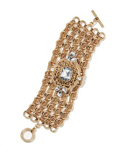 Eva Mendes Collection - Mesh Pendant Bracelet  - New York & Company