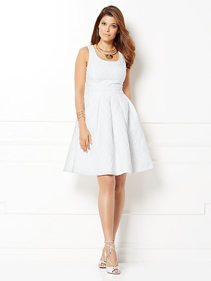 Eva Mendes Collection - Michaela Flare Dress - New York & Company