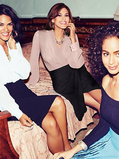 Eva Mendes Collection - Mila Bodysuit  - New York & Company