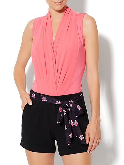 Eva Mendes Collection - Mila Sleeveless Bodysuit - New York & Company