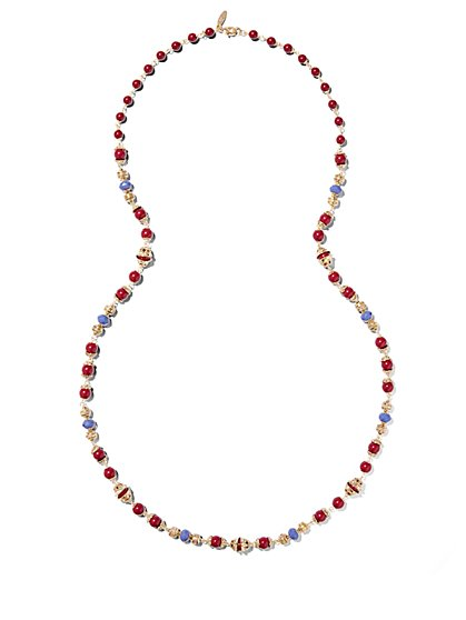 Eva Mendes Collection - Multi-Bead Necklace  - New York & Company