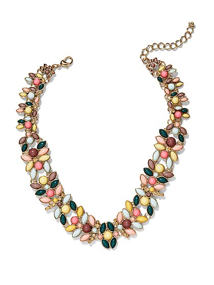 Eva Mendes Collection - Multicolor Collar Necklace   - New York & Company