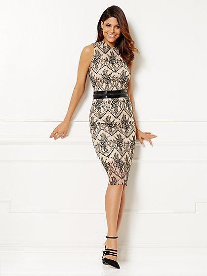 Eva Mendes Collection - Natasha Lace Sheath Dress - New York & Company